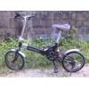 จักรยานพับได้ CHEVROLET ไม่มีเกียร์ มีโช็คกลาง บังโคลนหน้า-หลัง ล้อ 16 นิ้ว ราคา 2,500 บาท