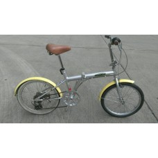 จักรยานพับ EXPLWORA เฟรมอลูมิเนียม ล้อ 20 เกียร์