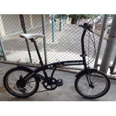 """จักรยานพับได้ HUMMER 20"""" 6สปีด"""